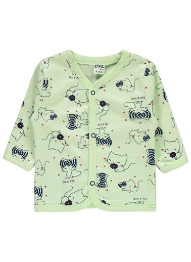 Civil Baby Kız Bebek Pijama Takımı Yeşil